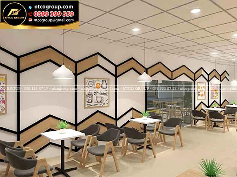 Thiết kế quán trà sữa đẹp tại Bình DƯơng