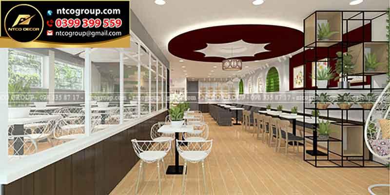 Thiết kế quán trà sữa hiện đại, đẹp ở Kiên Giang