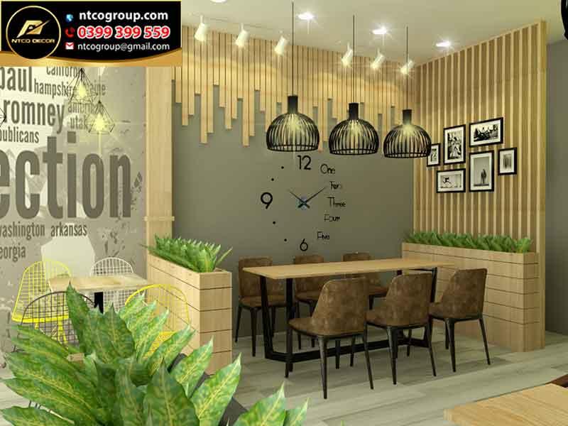 Thiết kế quán trà sữa đẹp Amigo 2 tầng hút khách