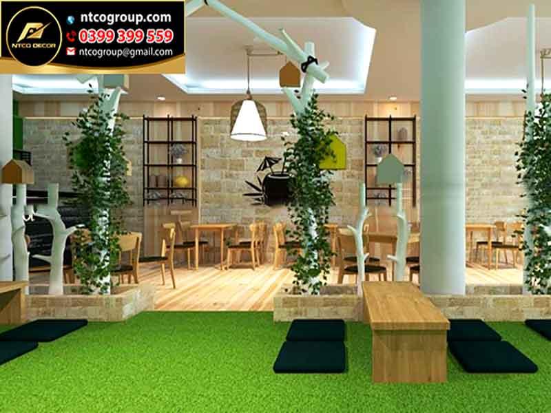 Thiết kế quán trà sữa đẹp tại Đồng Nai