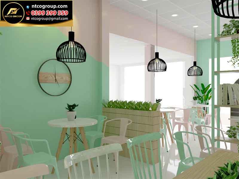 mô hình quán trà sữa nhỏ đẹp ở Lâm Đồng